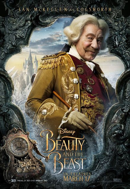 beauty and the beast image of cogsworth