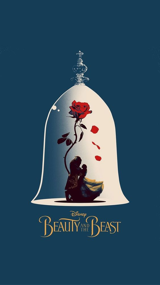 beauty and the beast fanart poster
