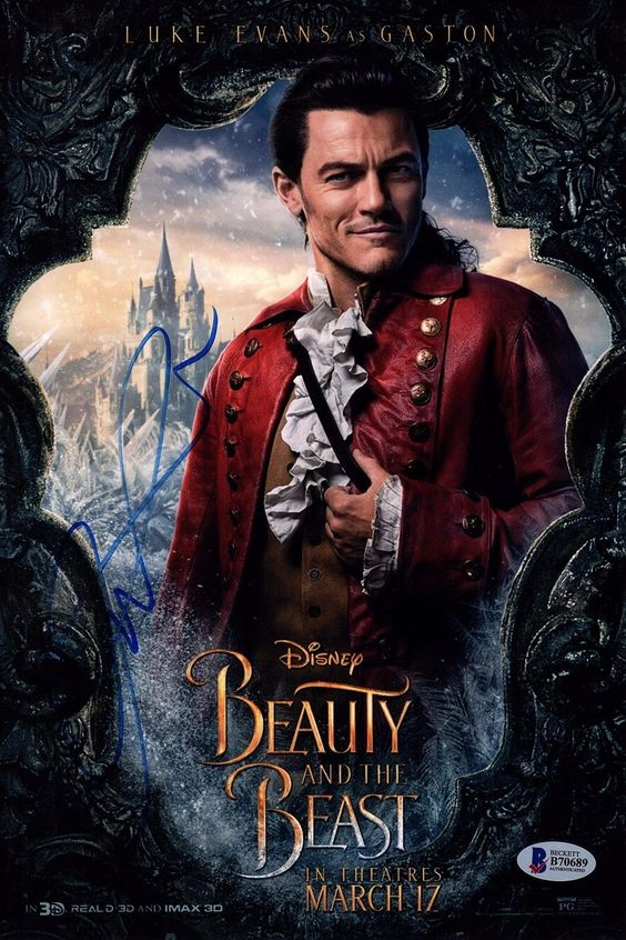 beauty and the beast image of gaston
