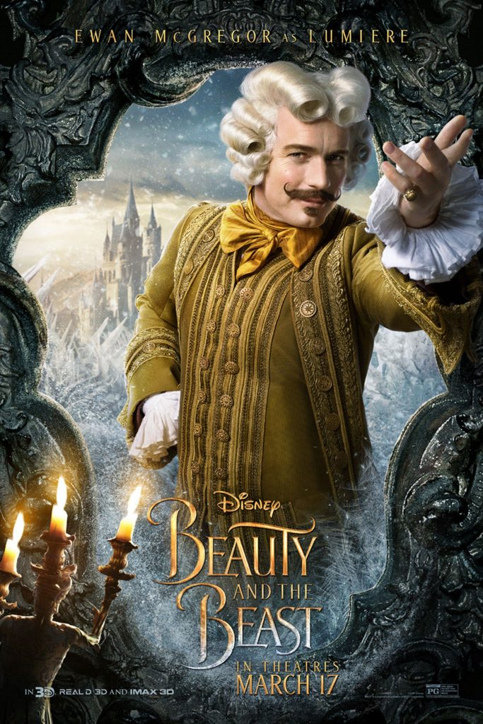 beauty and the beast image of lumiere