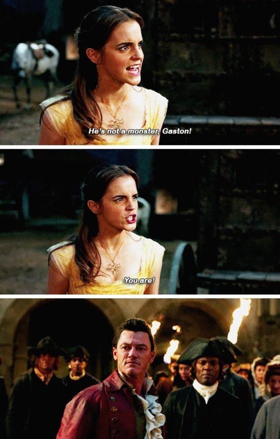beauty and the beast image of famous quote