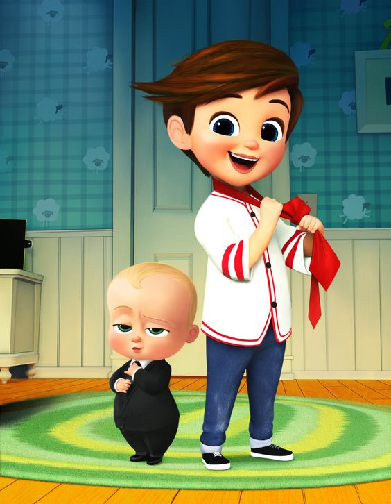 the boss baby image of baby and tim