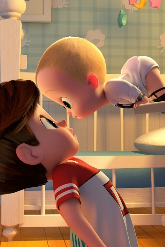 the boss baby image of tim and boss baby