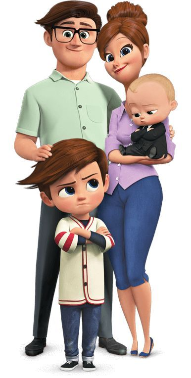 the boss baby image of family