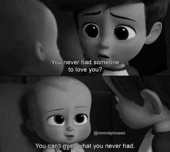 the boss baby image of famous quote