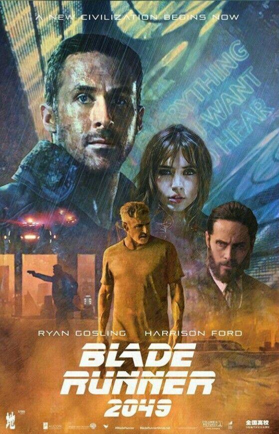 blade runner 2049 fanart poster