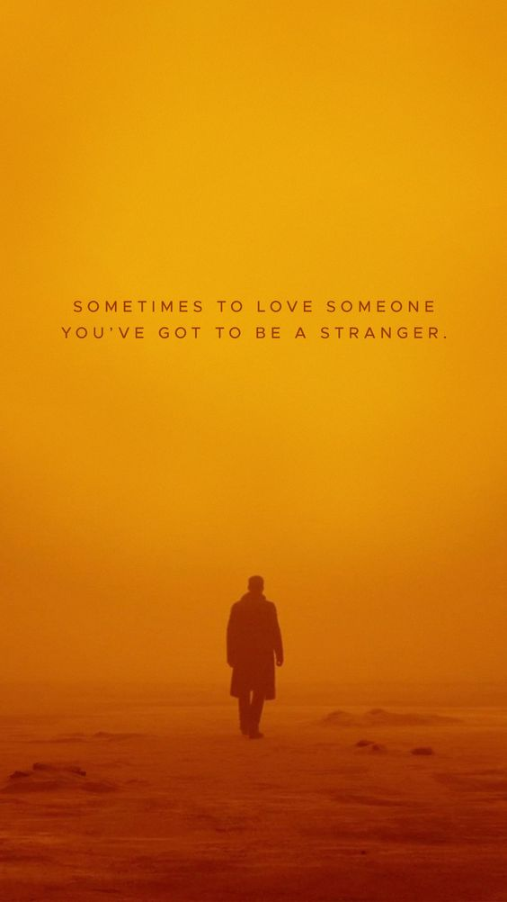 blade runner 2049 image of famous quote