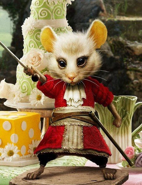 alice in wonderland image of dormouse