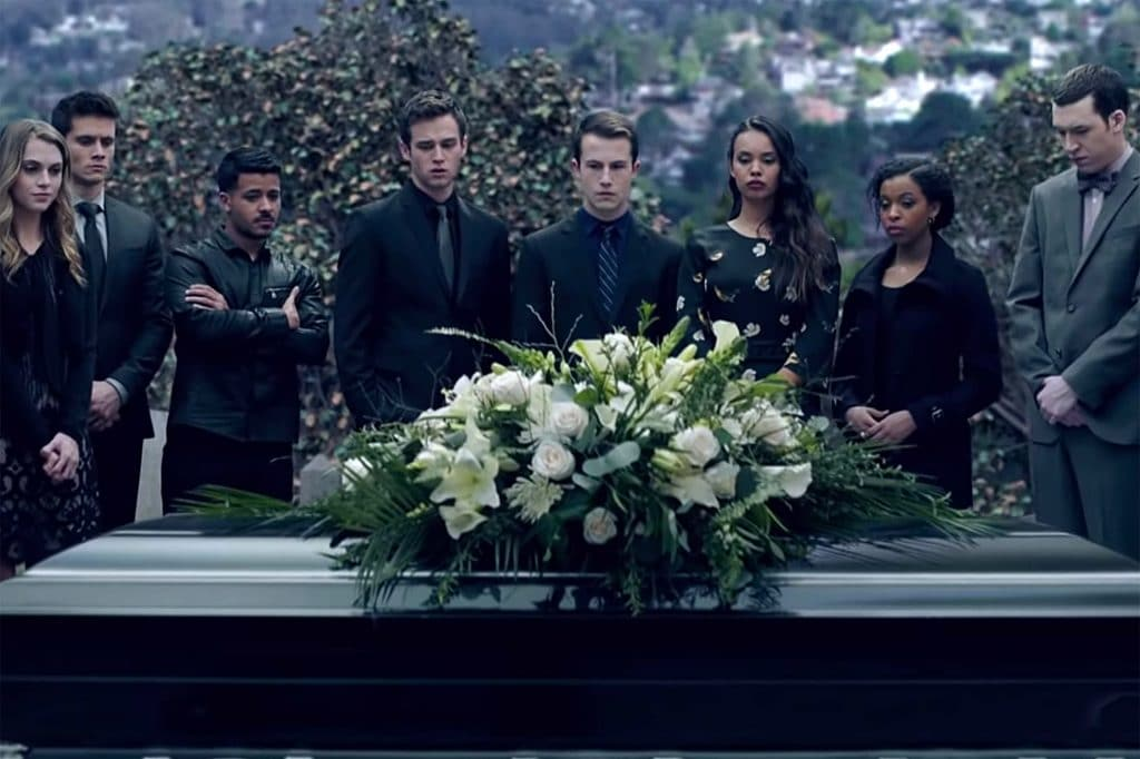 13 reasons why 3 image of funeral scene