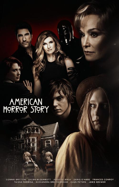 Poster A3 American Horror History Coven Serie Cartel Decor Impresion 01