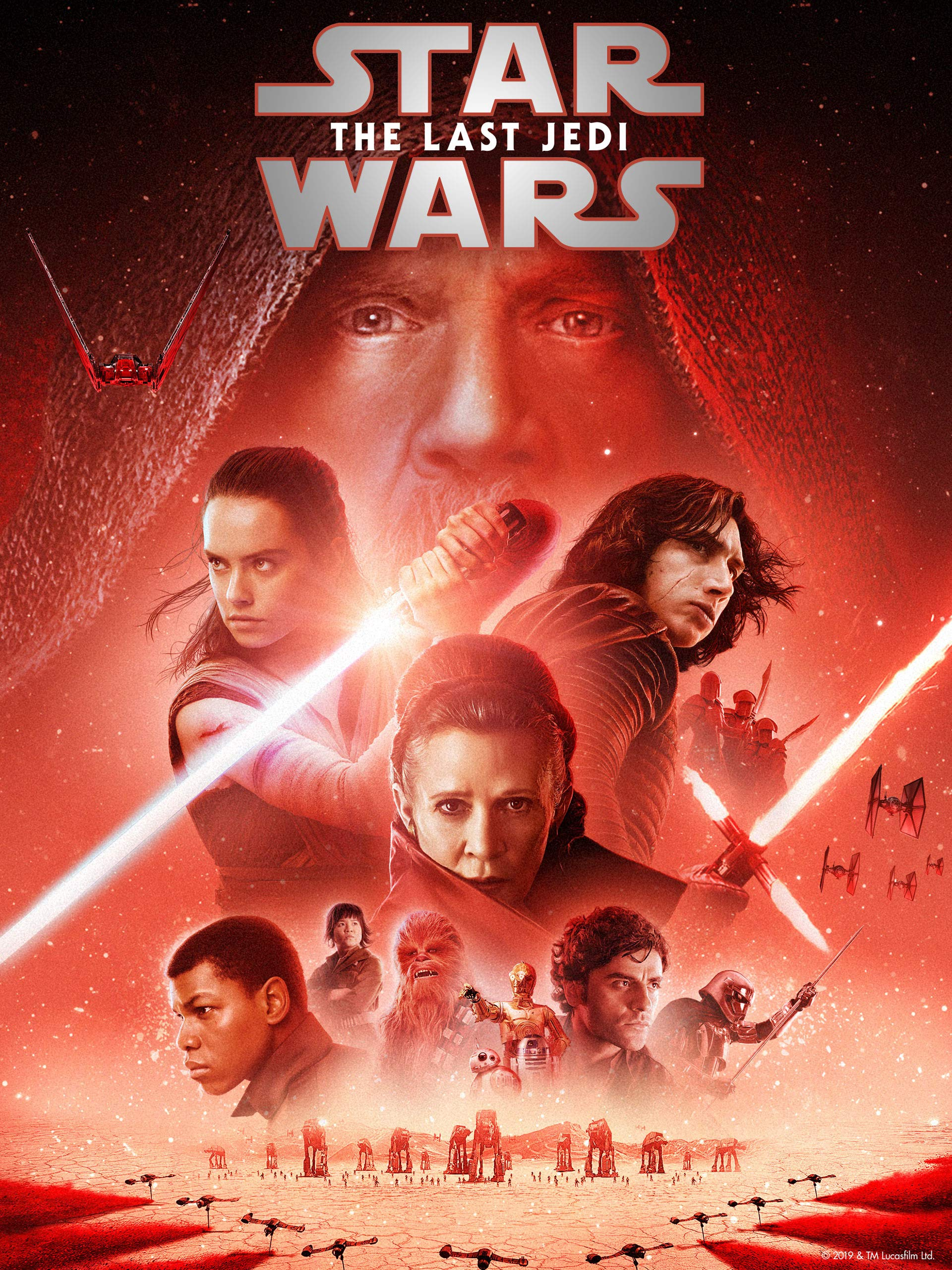 Star Wars The Last Jedi Poster Collection